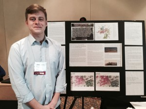 Antioch College student Eric Rhodes '16 presents his research into the historical redlining of Dayton and its impact on community at the 2015 Oral History Association annual meeting. Eric's faculty-mentored fieldwork was conducted in Brooke Bryan's WORK 425 course, with support of the Oral History in the Liberal Arts initiative, and the Lloyd Family Fund at Antioch College.
