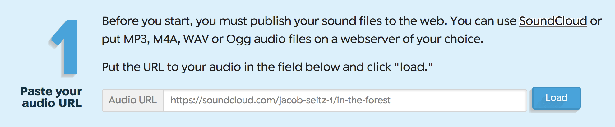 Soundcite—Animate Written Narrative with Spoken Word and Soundscapes